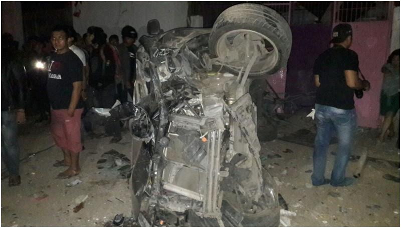 Ledakan terjadi di Jalan Pramuka, Makassar