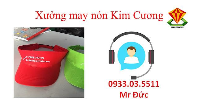 May nón lưỡi trai, nón du lịch số lượng lớn tại Thành Phố Hồ Chí Minh