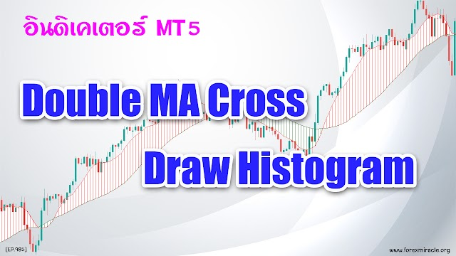 สอน Forex เบื้องต้น : อินดิเคเตอร์ Double MA Cross Draw Histogram และอนาคตของ MT5