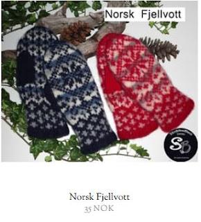 Oppskrift på tova votter - Norsk Fjellvott