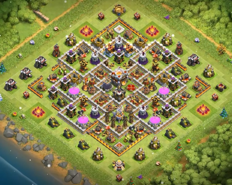 best town hall 11 farming base