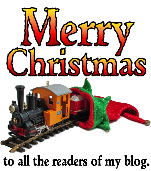 Merry Christmas to all the readers of my blog.