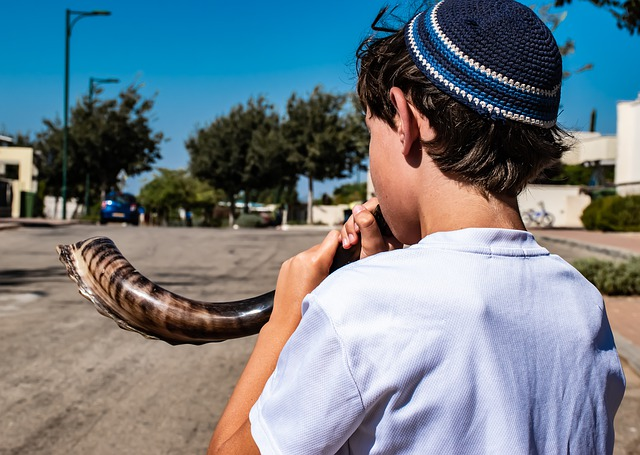 Why is the shofar blown ?