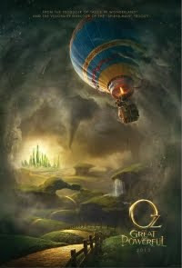 Oz The Great and Powerful Movie directed by Sam Raimi