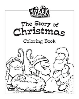 Spark Classroom / Christmas / Ages 2 - Grade 2 / Coloring Book (Each package includes 10 copies.)