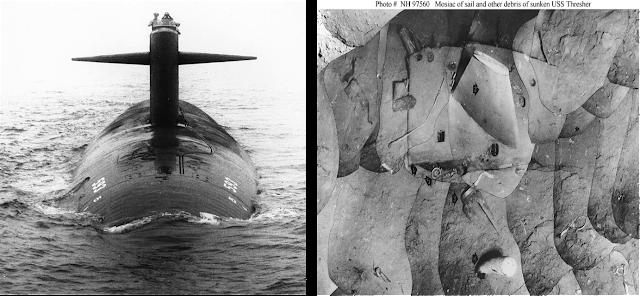фото подводной лодки трешер университете изучал