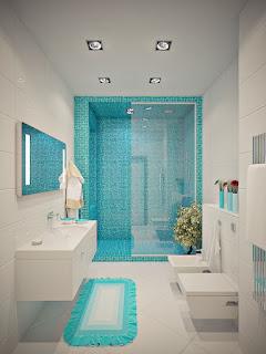 Pola pemasangan keramik kamar mandi 1