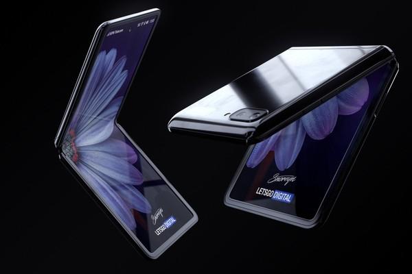 أول فيديو حقيقي لهاتف سامسونغ الصدفي القابل للطي Galaxy Z Flip