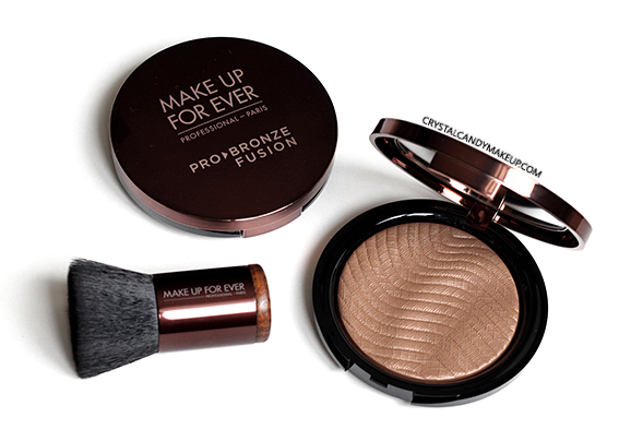 Make Up For Ever Pro Bronze Fusion Bronzing Powders Kabuki 20M 25I Review