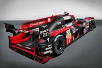 Audi R18 LMP1 2016 Rear Side