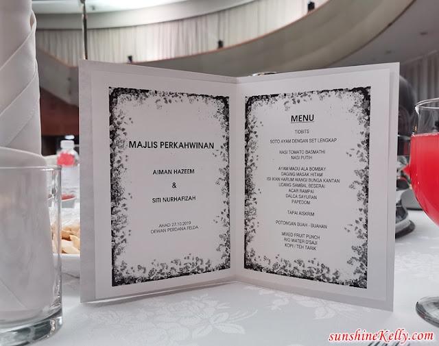 Wedding Reception, Aiman Hazeem & Siti Nurhafizah, Dewan Perdana Felda, Kuala Lumpur, Wedding, Dato Sri Aliff Syukri Kamarzaman, Abang Terlajak Laris, Bonda Rozita