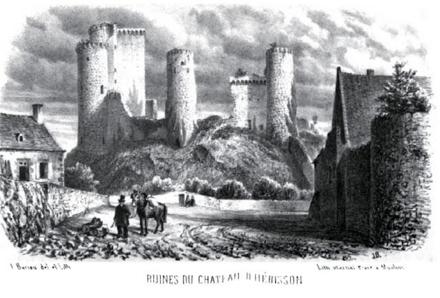 Patrimoine de l'Allier: château d'Hérisson