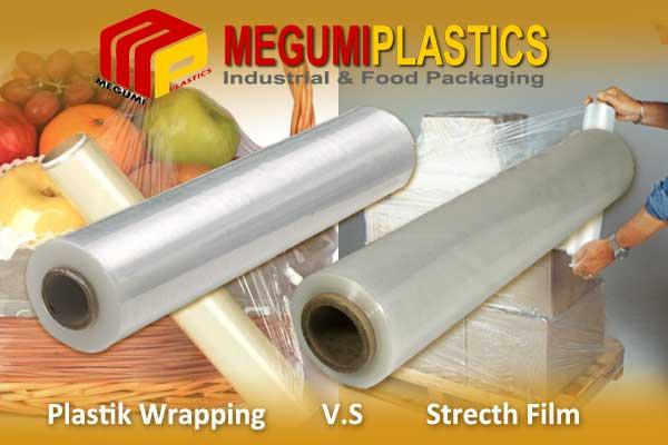 Perbedaan Plastik Wrapping dan Stretch Film