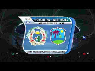 West Indies vs Afghanistan T20I 2019 Highlights