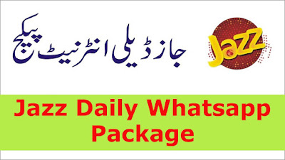 Jazz Whatsapp Daily Package Details Price