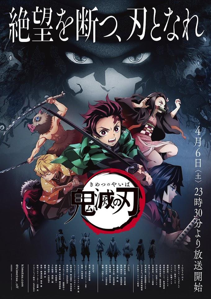 Anime Kimetsu No Yaiba Telah Menjadi Anime Terbaik Tahun 2019 ini!