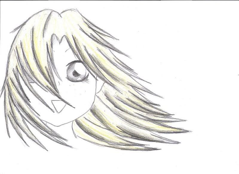"""Il Blog di Bia: Ragazza con capelli """"al vento"""""""