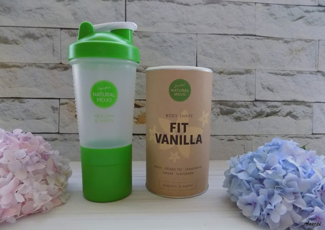 Zestaw Fit Vanilla- sproszkowane białko i shaker, Natural Mojo