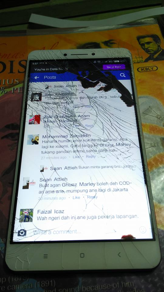 Biaya Ganti Lcd Dan Layar Sentuh Xiaomi Mi Max Flash Reset