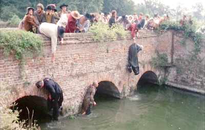 Witchfinder General, witch drowning, Tigon Films
