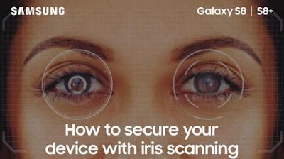 Cara Mengamankan Ponsel/Smartphone Dengan Pemindaian Iris