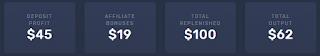 إثبات سحب أكثر من 62 دولار من افضل موقع للربح عن طريق الاستثمار