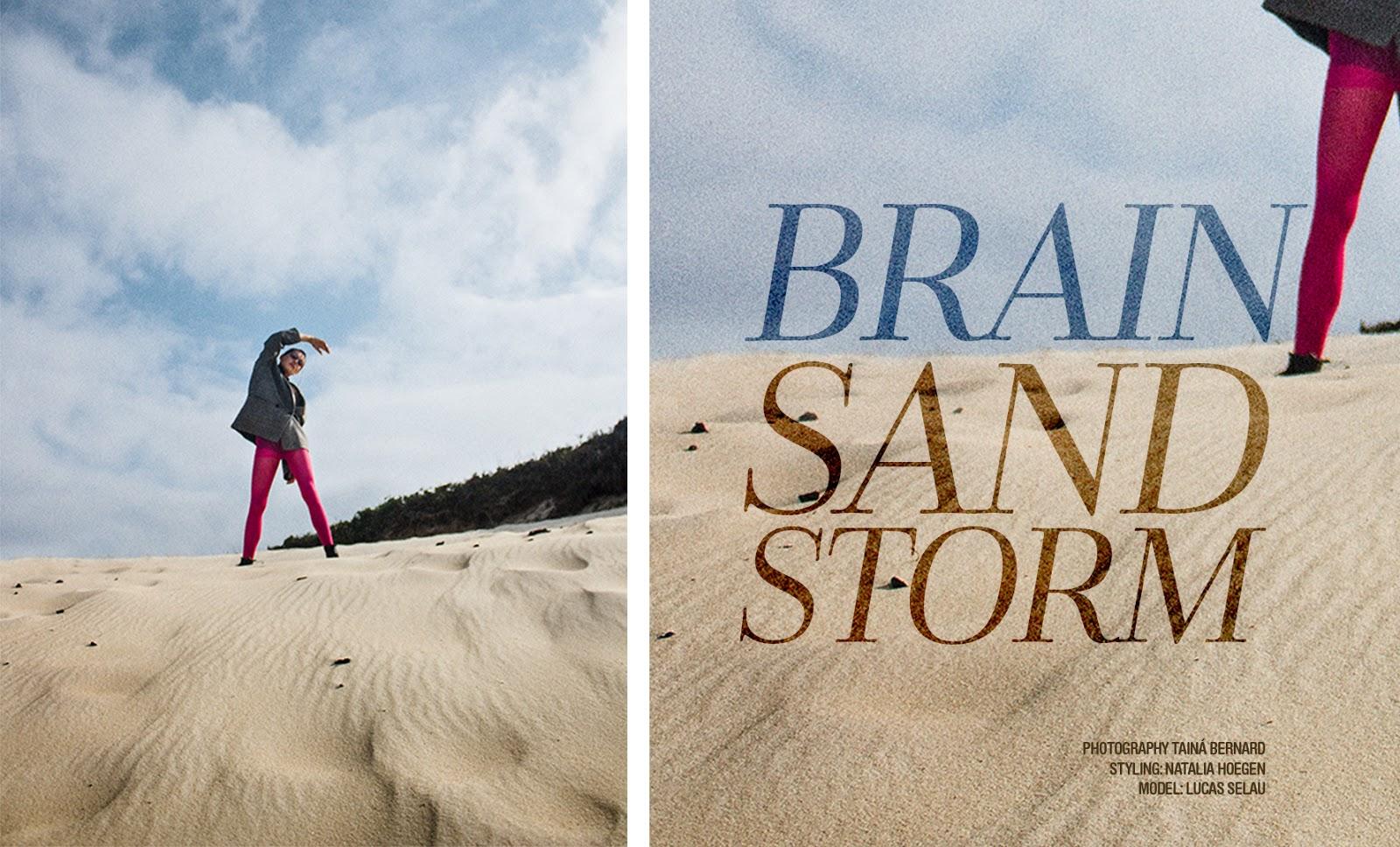 BRAIN SAND STORM