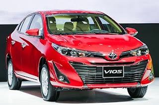 Giá lăn bánh ra số Toyota Vios 2019