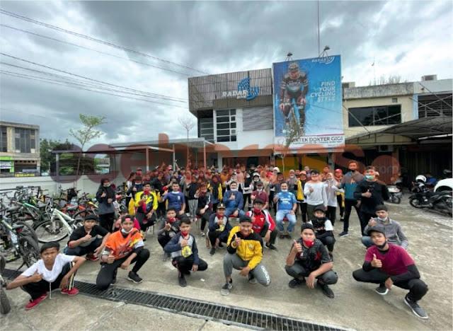 Radar Bike, Titik Kumpul Gowes Bareng Tim MBGH