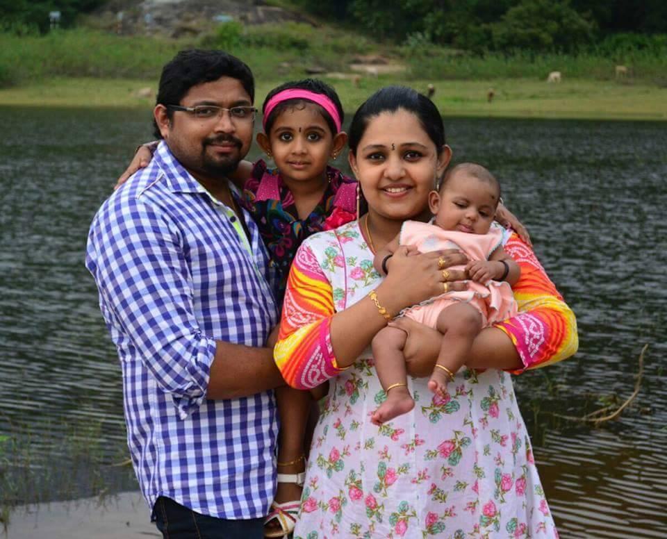 Serial Actress Aswathy Family Photos