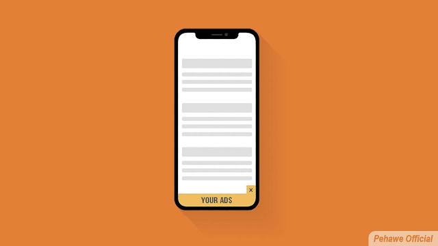 Cara Memasang Iklan Adsense Sticky ad Melayang Di Blog Ringan