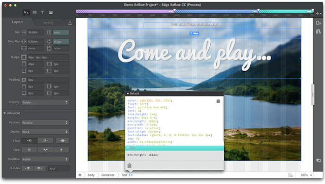 Adobe Edge Code CC Preview