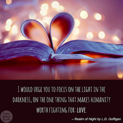 Realm of Night by L.D. Goffigan quote