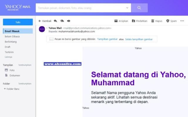 Selamat Datang di Yahoo