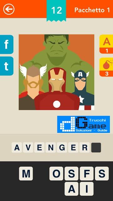 Indovina il film! Logo Quiz soluzione pacchetto 1 livelli 1-25