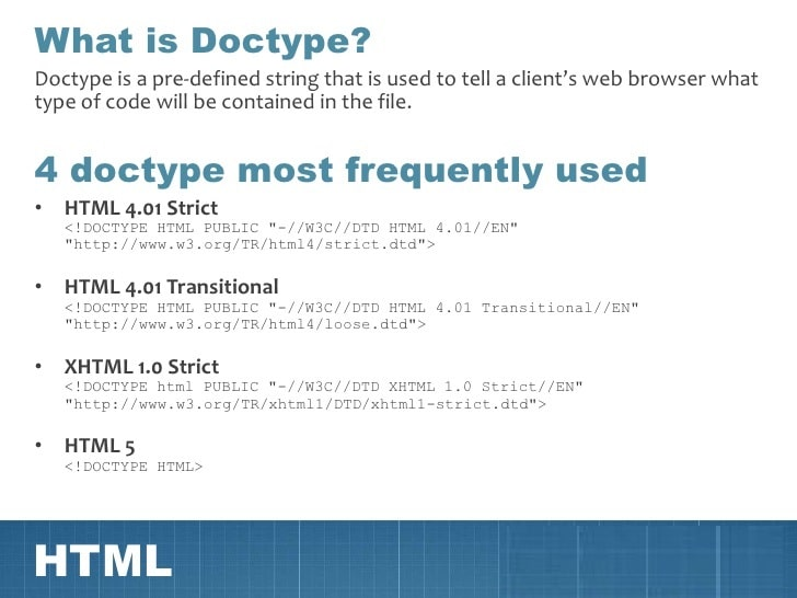 What is Dock type