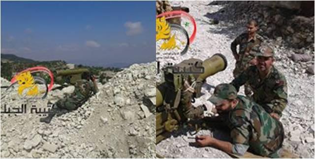 Το Ορεινό Τάγμα του Προφήτη Younis με Α-Τ πύραυλους Fagot/Konkurs