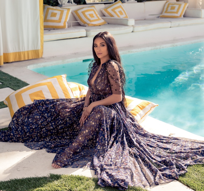 Shay Mitchell Stars in Ocean Drive May/June 2017