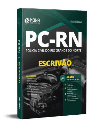 Apostila PC RN 2020 Escrivão de Polícia PDF e Impressa Grátis Cursos Online