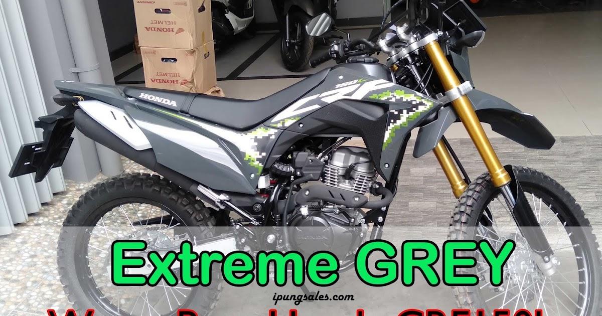 Terbaru Honda CRF 150L 2020 Warna Extreme Grey - MAS IPUNG