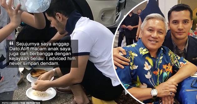 'Saya hulurkan tangan dahulu memohon maaf jika beliau terasa hati dengan teguran saya' - Chef Wan