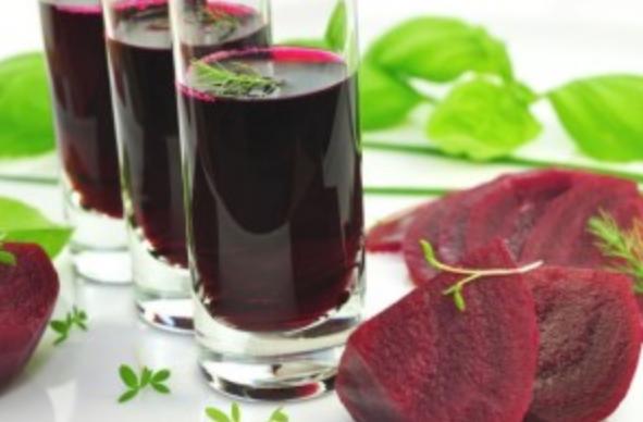 Method of action of useful beet juice