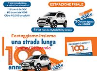 Concorso 100 anni Ekom : vinci oltre 41.000 premi ( alimentari, buoni spesa fino a 1000 euro) e 4 Fiat Panda Hybrid Citycross