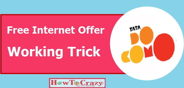 Tata Docomo Free Internet Trick 2016 (Porting Method)