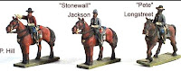 ACW55 Confederate Commanders (A.P. Hill, Stonewall Jackson, Longstreet)
