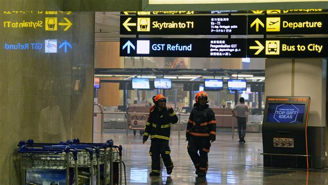 Fire at Singapore airport causes flight delays