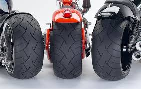 Disadvantages of Placing wider tyres in bikes