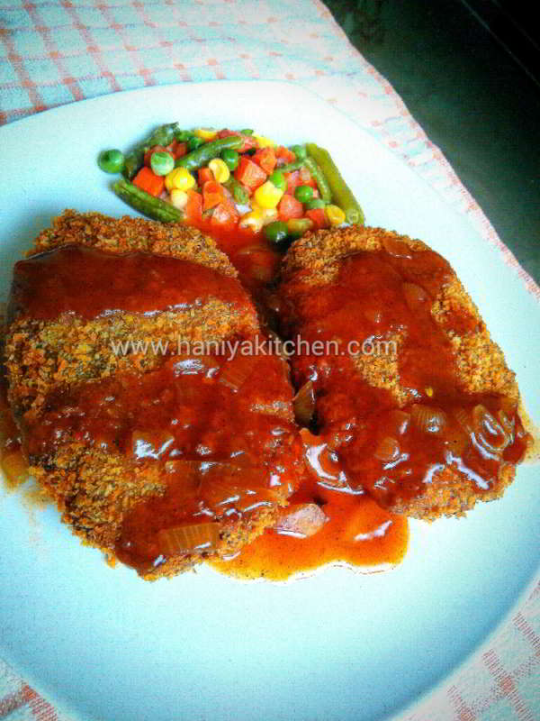 resep steak tempe saus lada hitam enak dan mudah