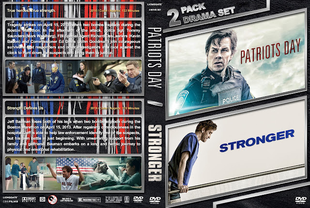 Patriots Day / Stronger Double Feature DVD Cover