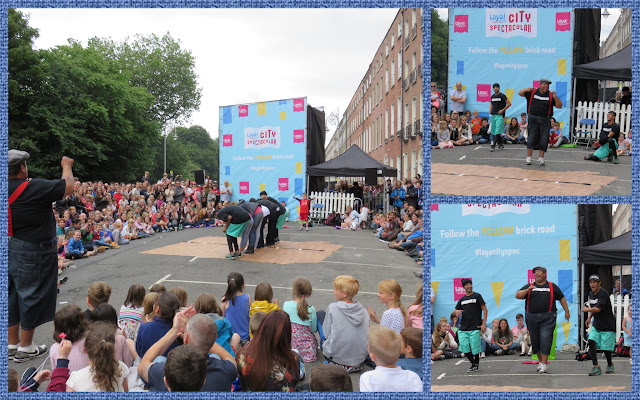 USA Breakdancers perform at Dublin City Spectacular